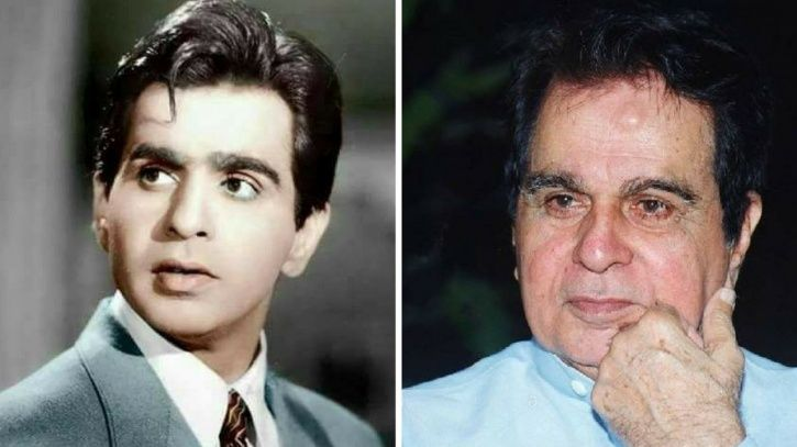 A picture of Dilip Kumar.