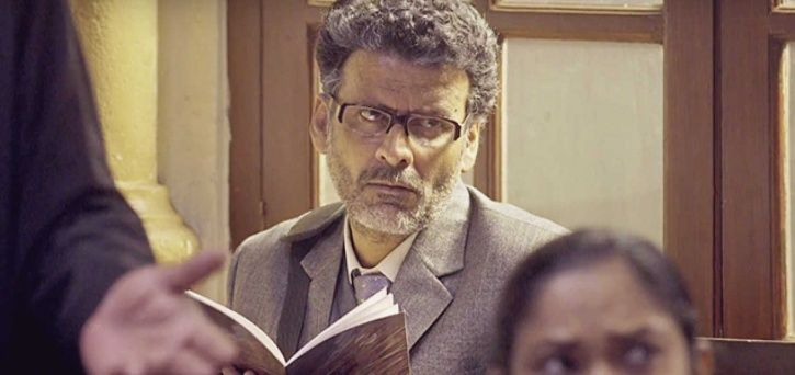 A picture of Manoj Bajpayee from Aligarh.