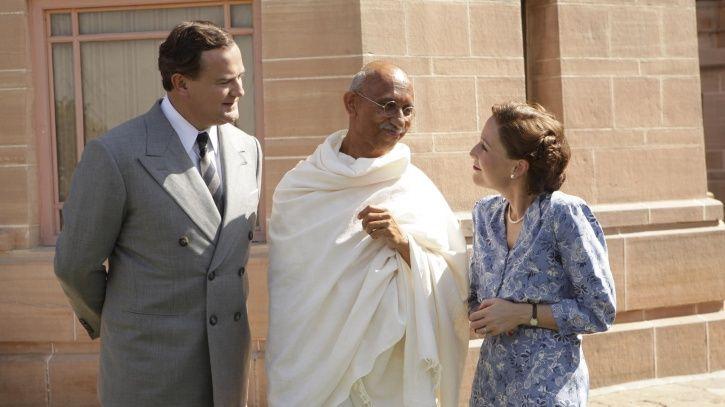A picture of Neeraj Kabi as Mahatma Gandhi.