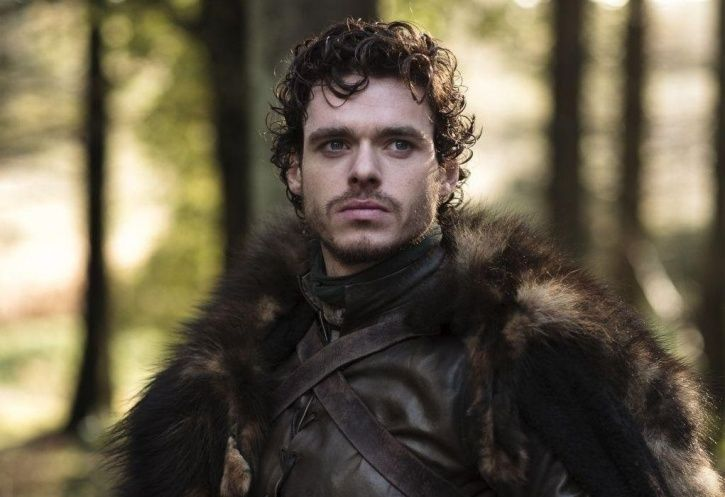 A picture of Robb Stark AKA Richard Madden from Game of Thrones.