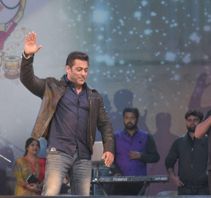 A picture of Salman Khan.