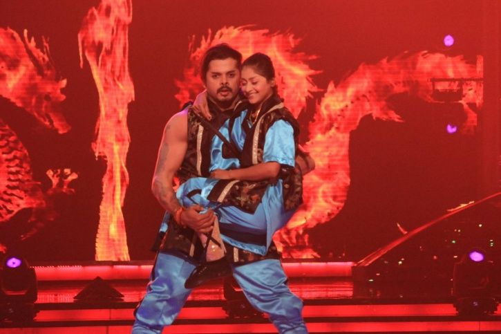 A picture of Sreesanth from Jhalak Dikhla Jaa 7.
