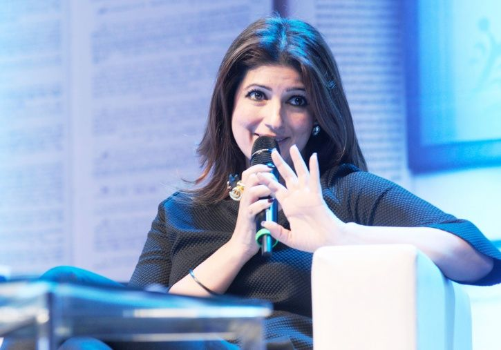 A picture of Twinkle Khanna.