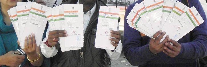 Aadhaar card, ration card, dog, madhya pradesh, dhar district, Narsingh Bodar