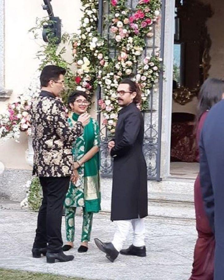 Aamir and Kiran Rao Ambani