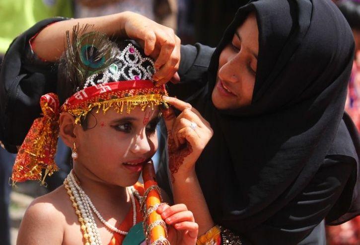 Agra Hindus Muslims Janmashtami Celebration