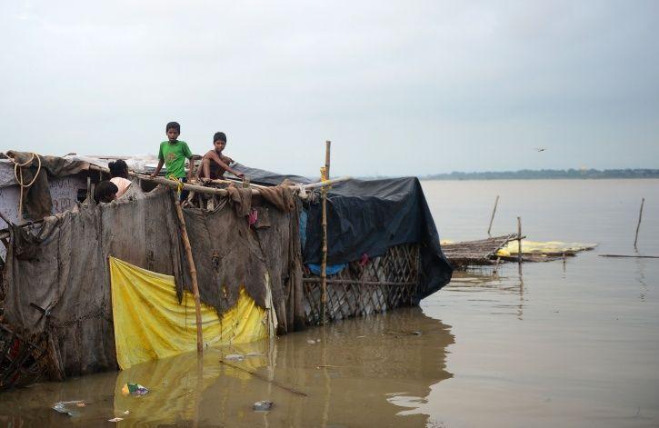 Allahabad, rains, overflow, Uttar pradesh, ganga