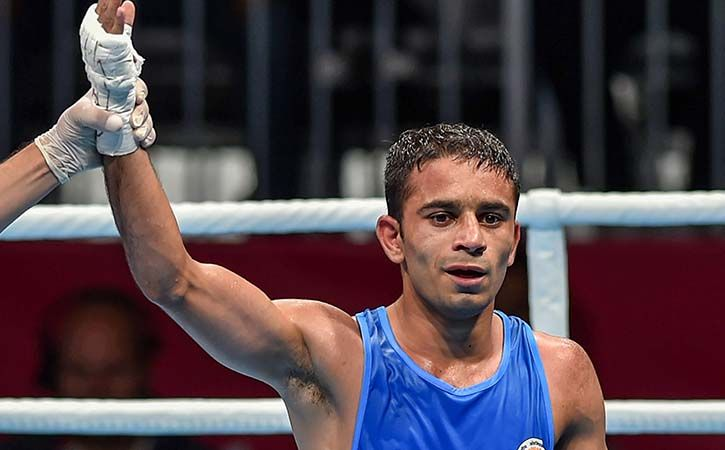amit panghal win gold in aisan games