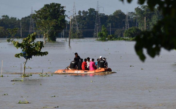 Assam floods, meghalaya, garo hills