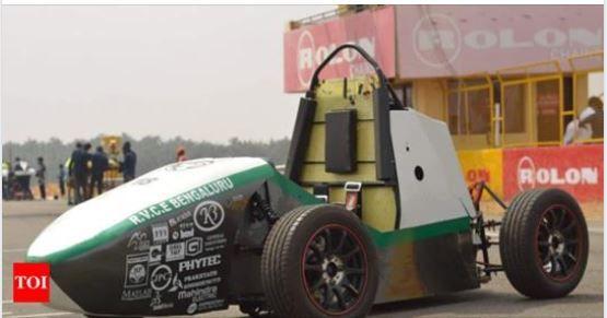 Bengaluru, RV college of engineering, electric car, 120 kmph, Team Chimera