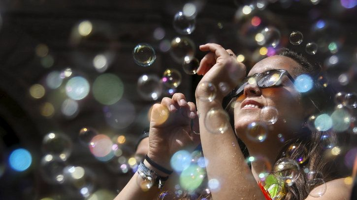 bubble blowing down to an exact science