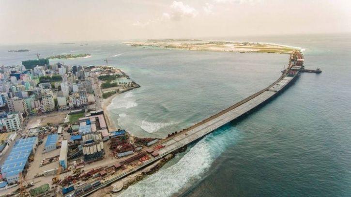 China-Funded Bridge In Maldives