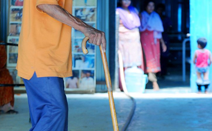 Disabled Ahmedabad Couple Sues Son