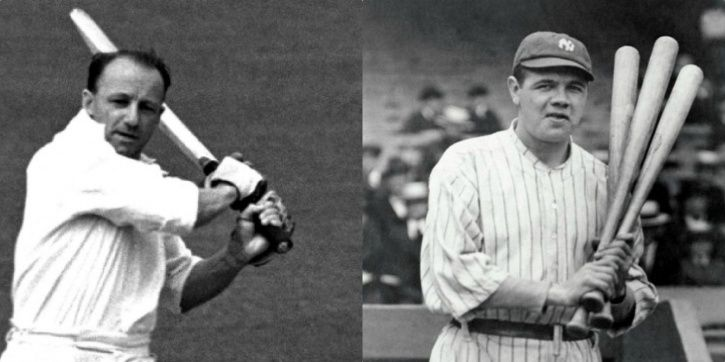 Don Bradman and Babe Ruth were both legends