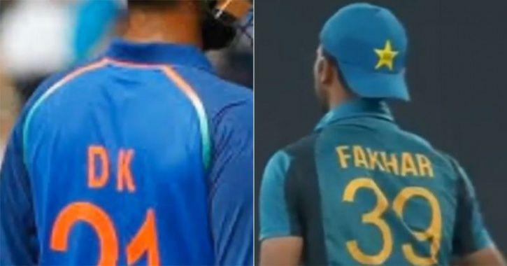 fakhar zaman and DK