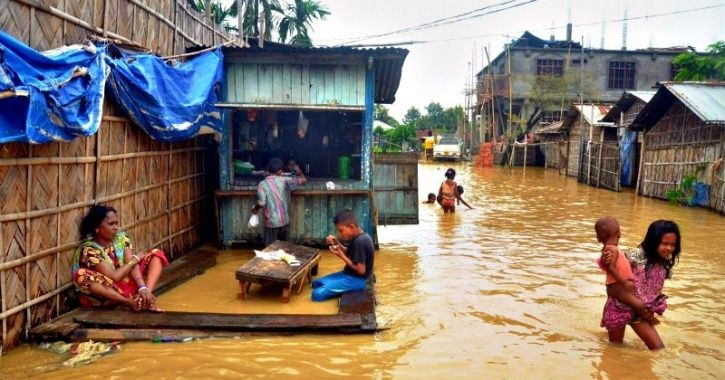 Flood Situation Worsens In Northeast, 2 Nagaland Districts Isolated Due To Landslides