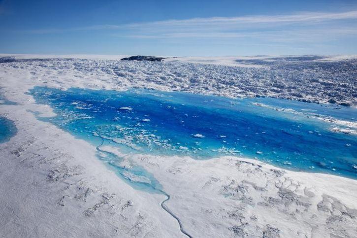 Greenland glacier collapse