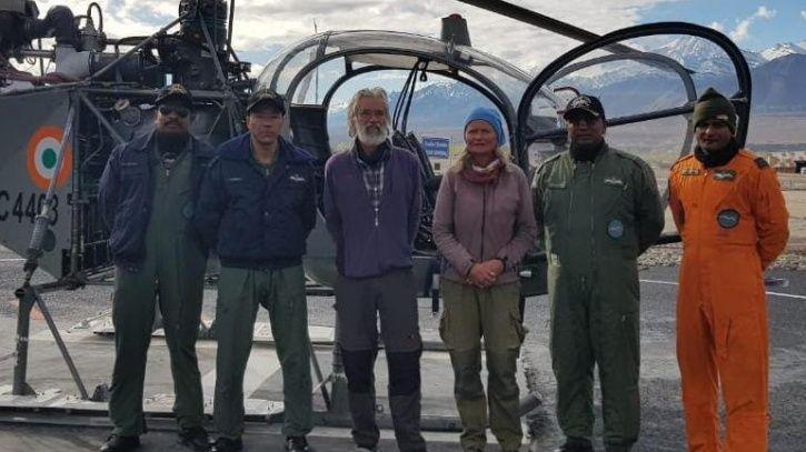 himachal, rescue, IAF