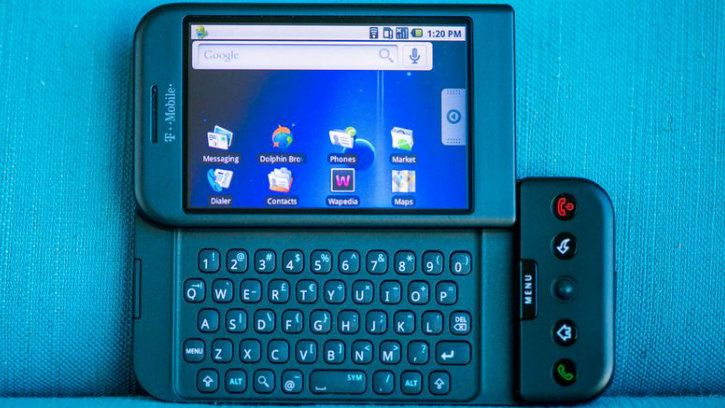 htc dream t-mobile g1 1st android phone
