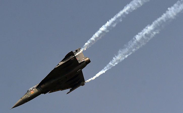 IAF Aircraft Conduct Mid Air Refueling Of Tejas Fighter Jet