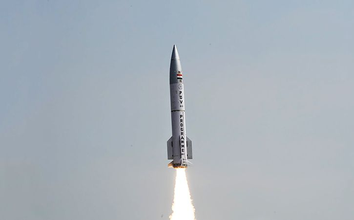 India Conducts Successful Interceptor Missile Test At Night