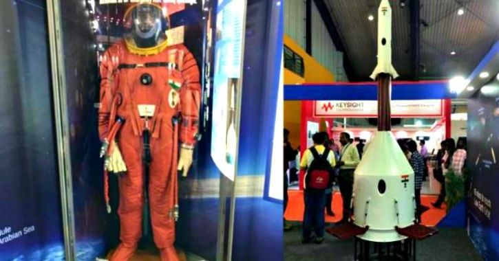 Indian Astronauts Will Wear A Saffron Spacesuit As They Take Off To Space Aboard Gaganyaan