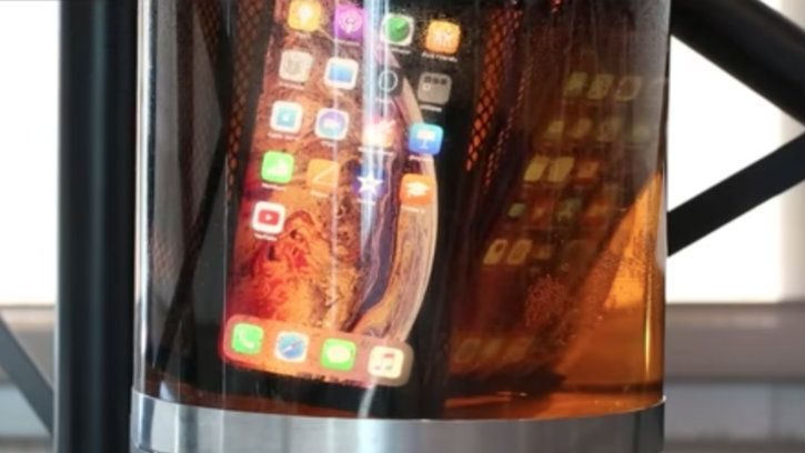 iPhone beer submerge resistant