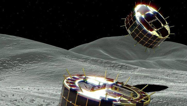 japan minerva-ii rovers hayabusa2 asteroid ryugu