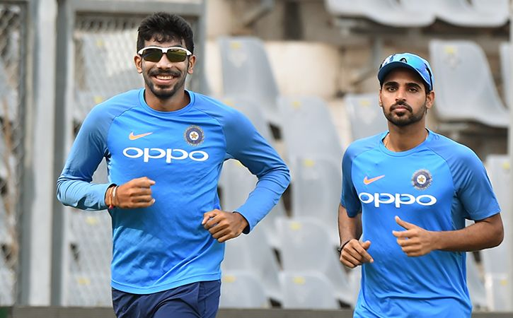 Jasprit Bumrah And Bhuvneshwar Kumar