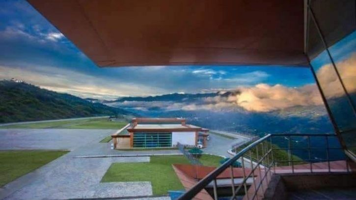 Located At 4,500 Ft In Himalayas, Picturesque Pakyong Airport In Sikkim Opens