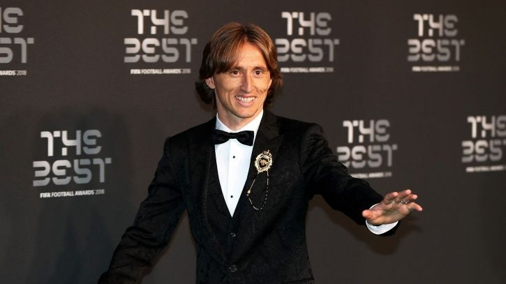 Luka Modric is on top of the world