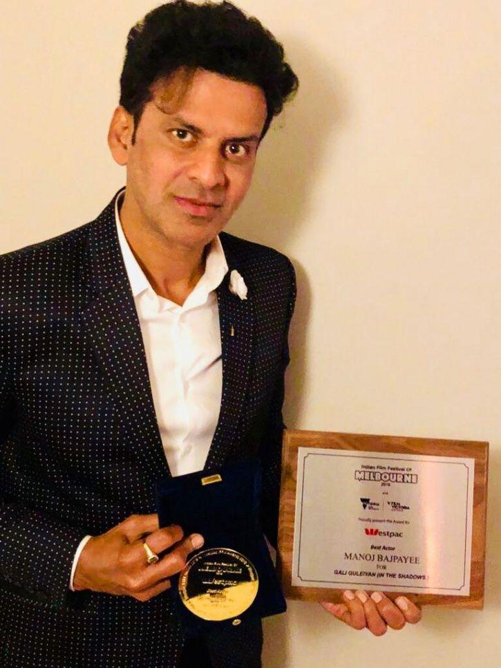 Manoj Bajpayee wins best actor