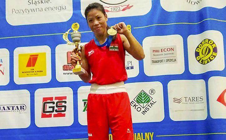mary  kom win gold