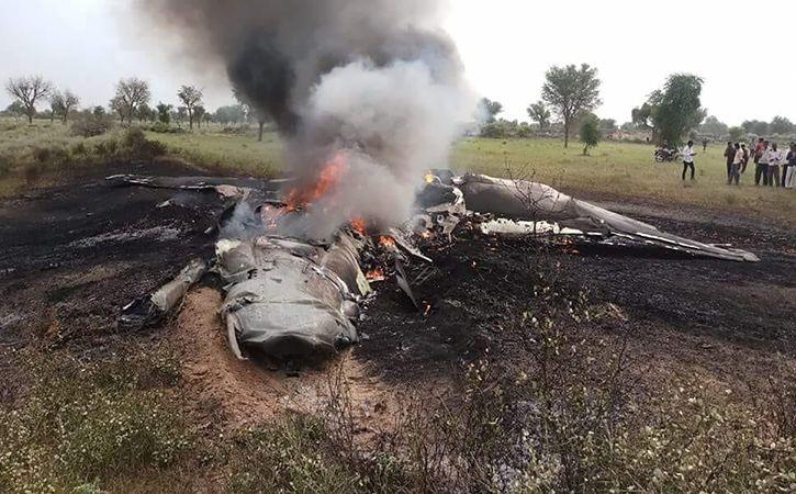 Mig 27 Aircraft Crashes In Jodhpur