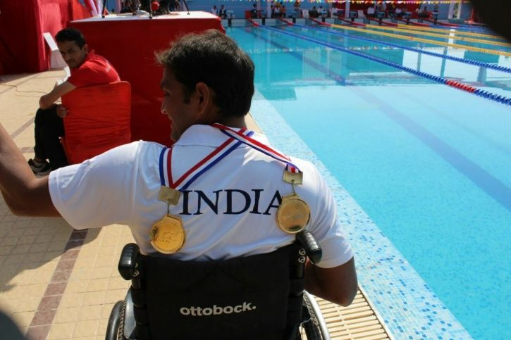 Mohammad Shams Aalam Shaikh, swimmer, paraplegic, Asian Para Games 2018, indonesia