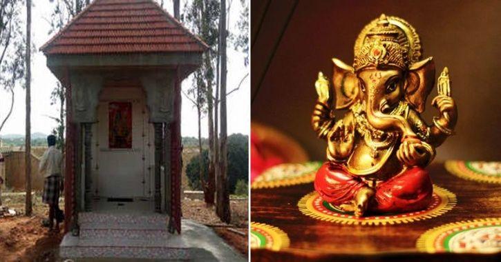 Muslim Man Builds Temple For Ganesha
