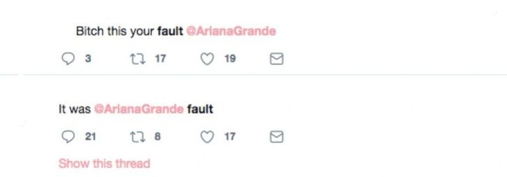People are abusing Ariana Grande for Mac Miller