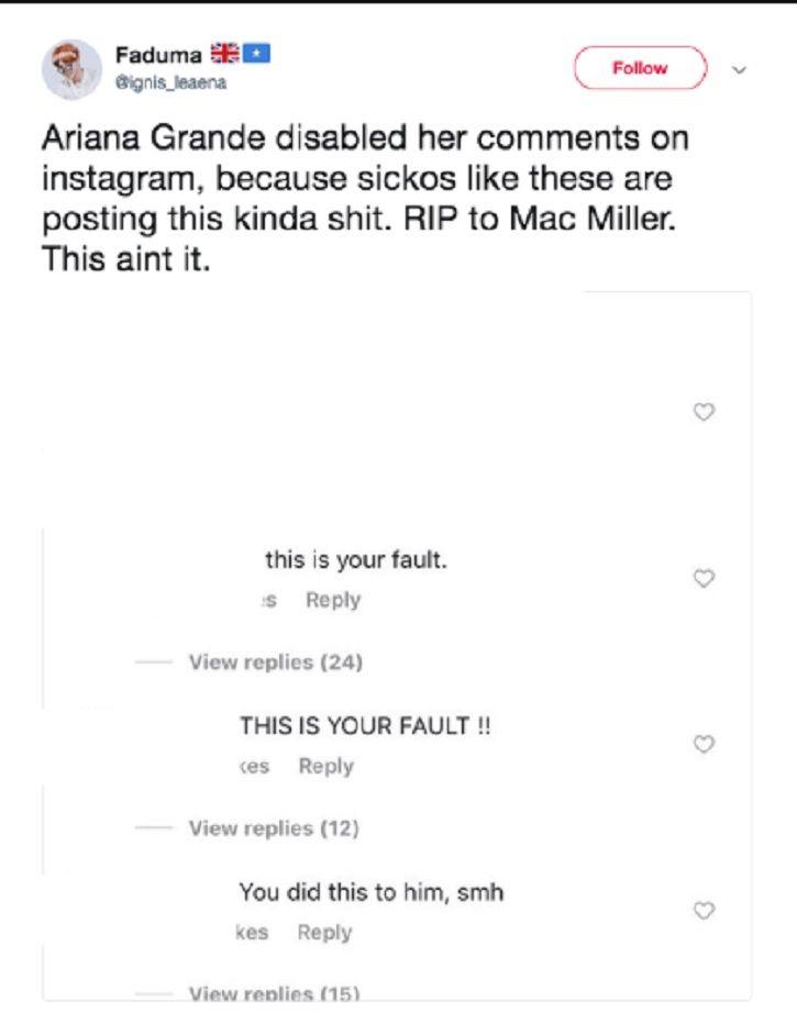 Rapper Mac Miller Dies Of Apparent Dug Overdose, Trolls Blame His Ex-Girlfriend Ariana Grande For Hi