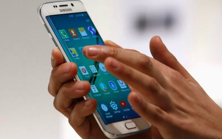 samsung mobile phone with android reuters