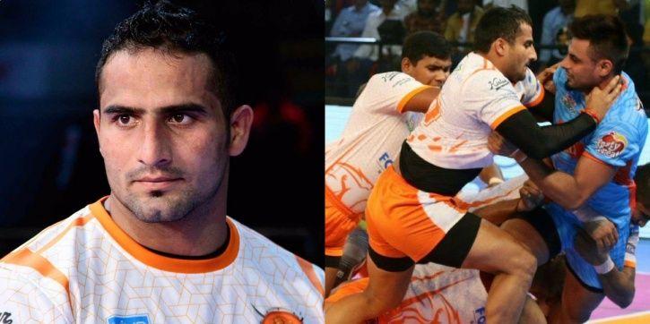 Sandeep Narwal represents Puneri Paltan