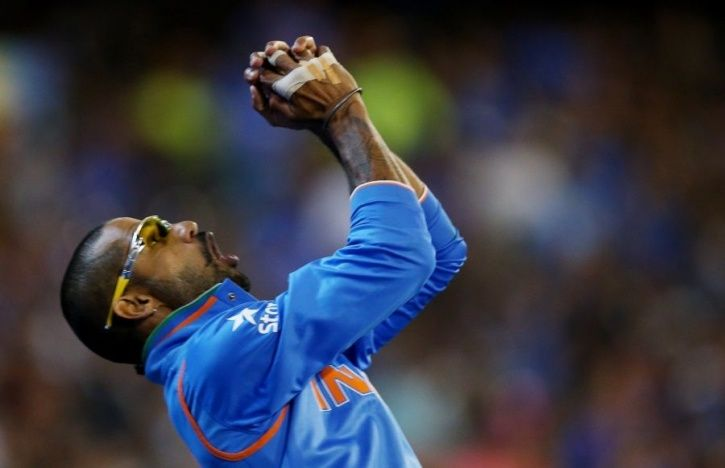 shikhar dhawan fielding