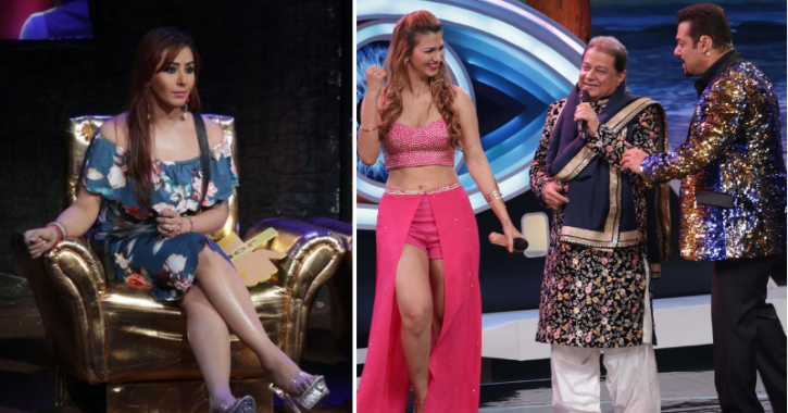 Shilpa Shinde Comments On Anup Jalota's Relationship With Jasleen Matharu.