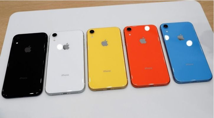smartphone colours