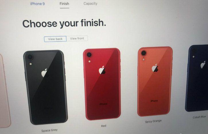 spicy orange iphone colour