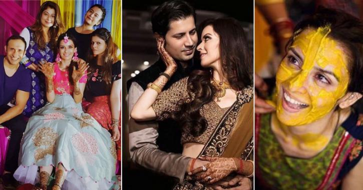 Sumeet Vyas & Ekta Kaul's Sangeet & Haldi Ceremonies Look Straight Out Of A Filmy Scene