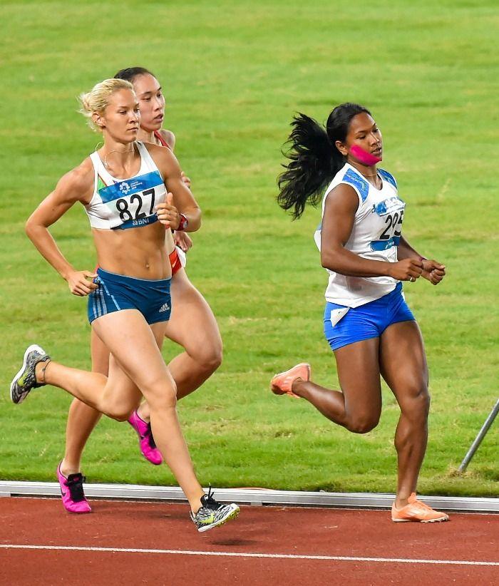 Swapna Barman, heptathlon champion India