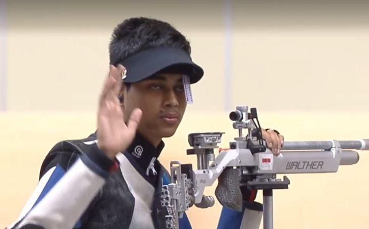 Teenager Hriday Hazarika Shoots Gold At Issf World Championships