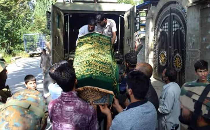 Terrorists Kill Soldier Who Was Home For Son Last Rites