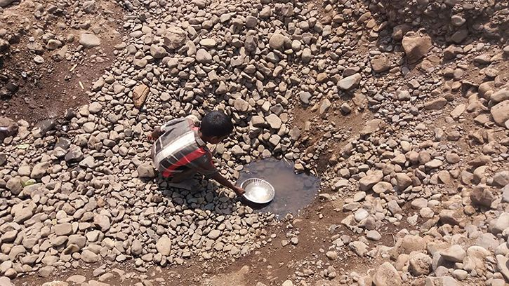 Villagers Stay Thirsty As River Handpumps Go Dry