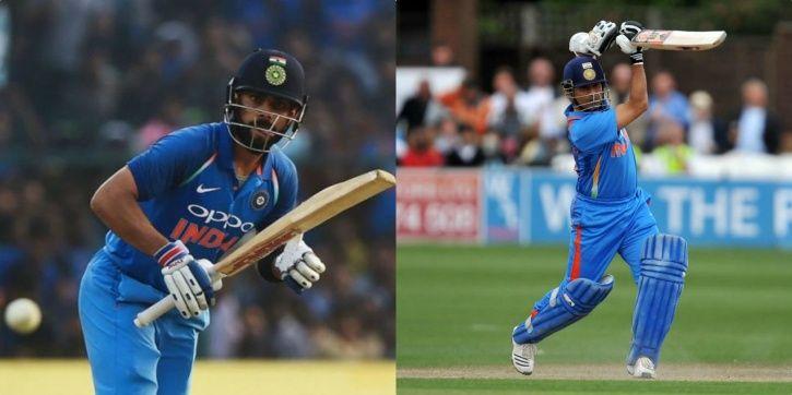 Virat Kohli has scored 9779 ODI runs